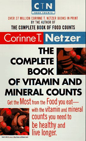 9780440223351: The Complete Book of Vitamin and Mineral Counts (Dell Women's Health)