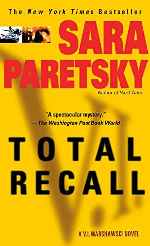 9780440224716: Total Recall (V. I. Warshawski)