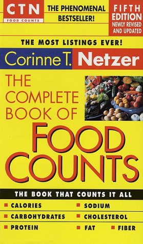 9780440225638: The Complete Book of Food Counts- 5th Edition