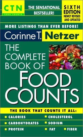 9780440225645: The Complete Book of Food Counts - 6th Edition