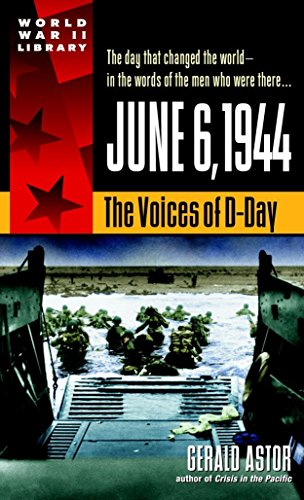 9780440236979: June 6, 1944: The Voices of D-Day (World War II Library)