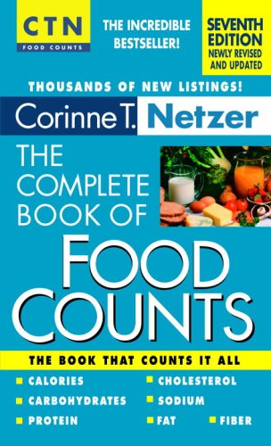 9780440241232: The Complete Book of Food Counts, 7th edition