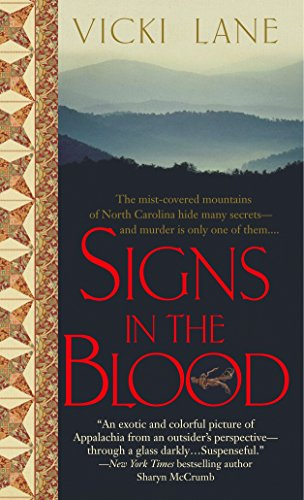9780440242086: Signs in the Blood (The Elizabeth Goodweather Appalachian Mysteries)