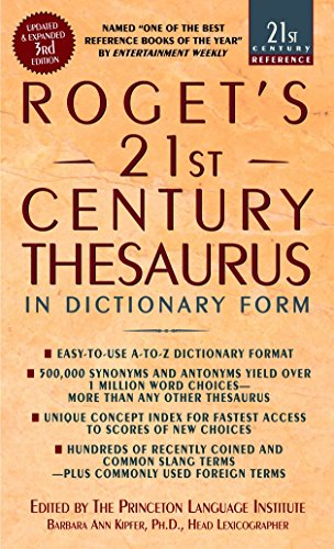 9780440242697: Roget's 21st Century Thesaurus: in Dictionary Form :The Essential Reference for Home, School, or Office