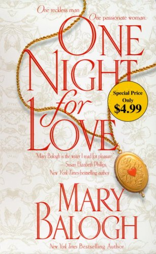 9780440244196: One Night for Love (Dell Historical Romance)