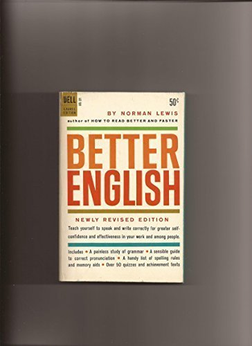 Better English: Lewis, Norman