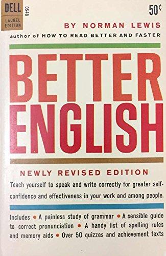 9780440305484: Better English