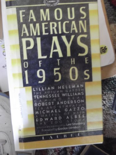 Famous American Plays of the 1950s: Strasberg, Lee (Editor)