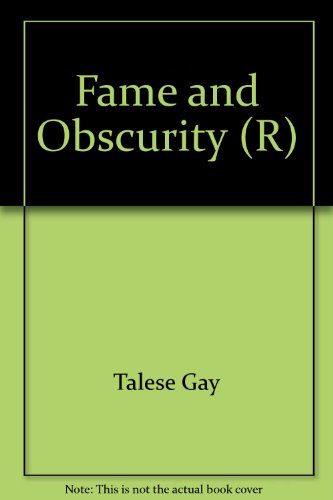9780440324928: Fame and Obscurity