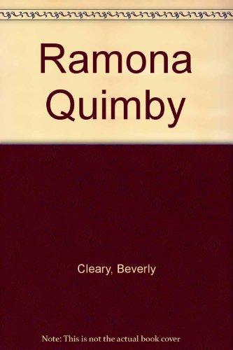 9780440360452: Ramona Quimby