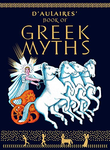 9780440406945: D'Aulaires' Book of Greek Myths