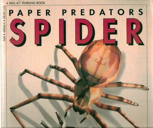 9780440407669: Paper predators: Spider and Fly: Gigantic Cut-out Models of Spider and Bluebottle