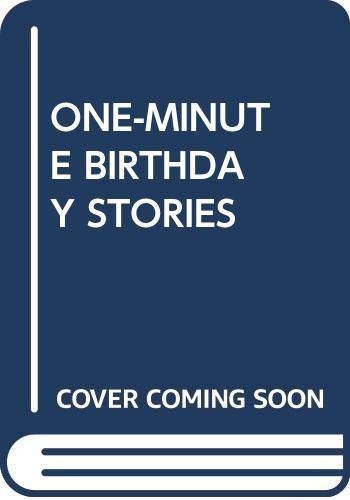 One-Minute Birthday Stories (0440410045) by Shari Lewis