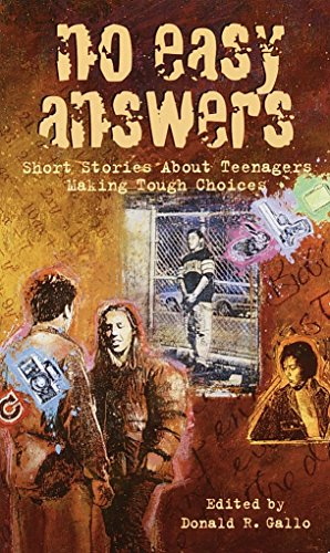 No Easy Answers: Short Stories About Teenagers: Donald R. Gallo