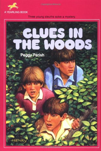 9780440414612: Clues in the Woods (Liza, Bill & Jed Mysteries)
