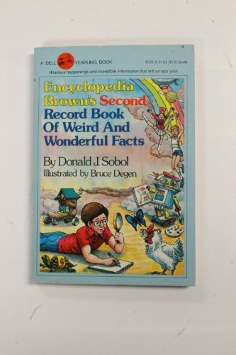 9780440424215: Encyclopedia Brown's Second Record Book of Weird and Wonderful Facts