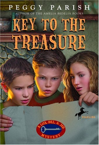 9780440444381: Key to the Treasure (Liza, Bill & Jed Mysteries)