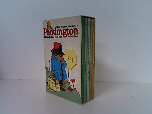 9780440458319: More Hilarious Adventures of Paddington - 5 bk Boxed set (Paddington Takes to TV: Paddington Takes the Air: Paddington Goes to Town: Paddington Abroad: Paddington Marches On)