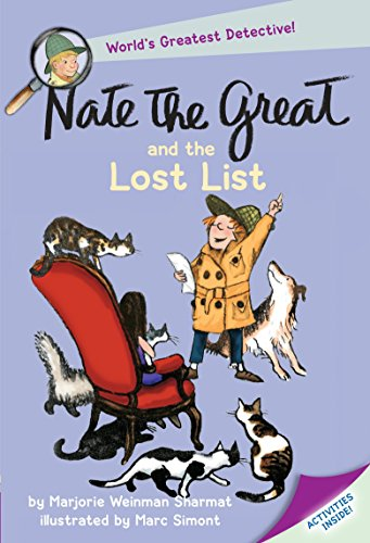 9780440462828: Nate the Great and the Lost List