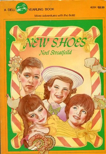 New Shoes 9780440463047 Reverend Bell and his family leave their beloved London parish for Crestel New Town, and the Bell children--Paul, Jane, Ginnie and Angus--set out to transform this unfriendly village into a close, loving community.