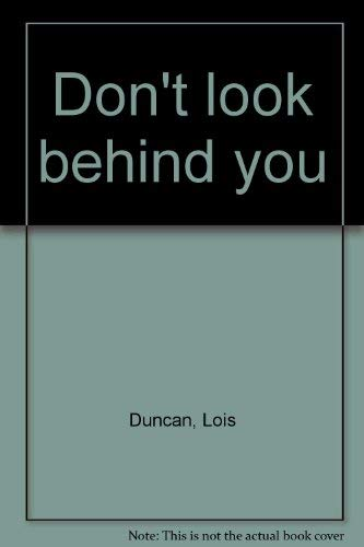 9780440501398: Don't look behind you