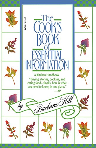 9780440502630: Cook's Book of Essential Information: A Kitchen Handbook
