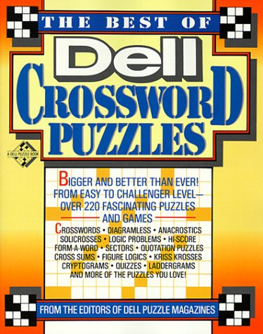 The Best of Dell Crossword Puzzles: Dell Magazine Editors