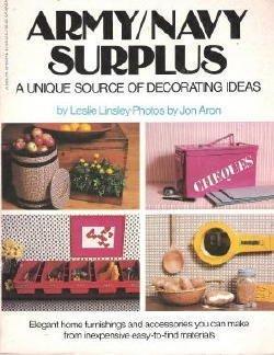 9780440504801: Army/Navy surplus: A unique source of decorating ideas