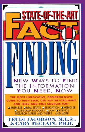 9780440504993: State-of-the-Art Fact-Finding: New Ways to Find the Information You Need, Now