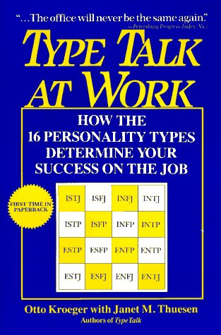 9780440506997: Type Talk at Work: How the 16 Personality Types Determine Your Success on the Job