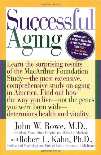9780440508632: Successful Aging: Learn the Surprising Results of the Macarthur Foundation Study