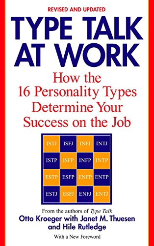 9780440509288: Type Talk at Work: How 16 Personality Types Determine Your Success on the Job