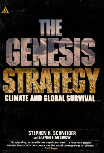 9780440527923: The Genesis Strategy - Climate and Global Survival (The Science and Social Consequences of Climate Change)