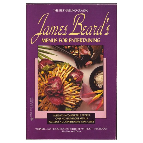 James Beard's Menus for Entertaining (9780440544210) by James Beard