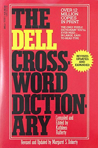 9780440563181: Dell Crossword Dictionary