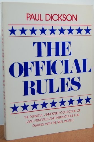 The Official Rules (0440566843) by Paul Dickson
