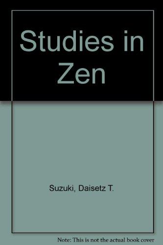 9780440583714: Studies in Zen