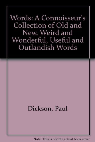 Words (0440592607) by Paul Dickson