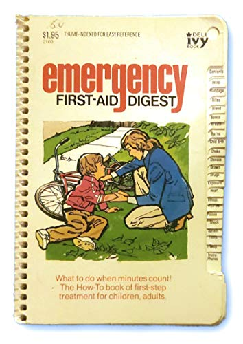 9780440621034: Emergency First-Aid Digest (Thumb Indexed for Easy Reference)