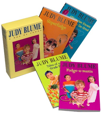 Judy Blume Boxed Set: Fudge-a-Mania; Otherwise Known: Judy Blume