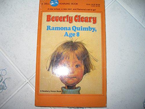 9780440800460: Ramona Quimby, Age 8 (Ramona, #6)