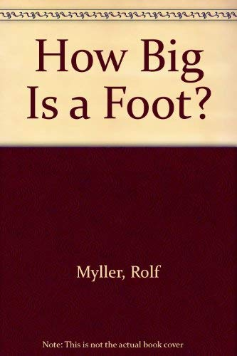 9780440803324: How Big Is a Foot?