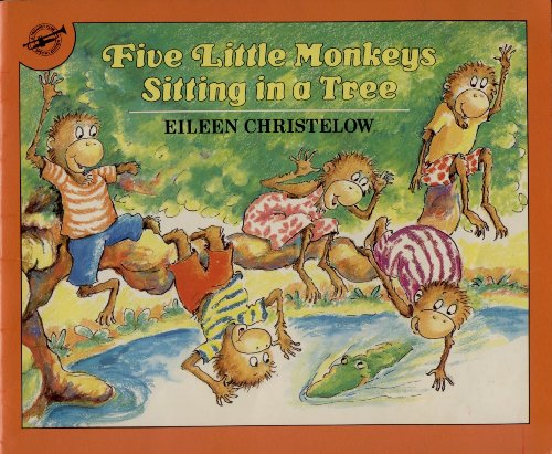9780440831143: Five Little Monkeys Sitting in a Tree - Signed (A Trumpet Club Special Edition)