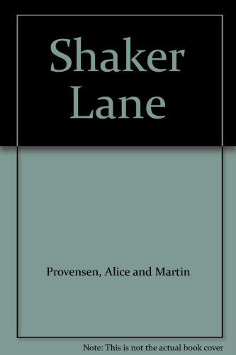 Shaker Lane [Pictorial Children's Reader, Early American Heritage, History, Rural lifestyle]: ...