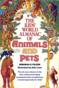 9780440841616: The Kid's World Almanac of Animals and Pets