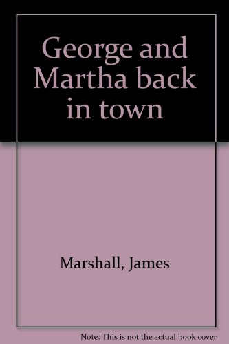 9780440841944: George and Martha back in town