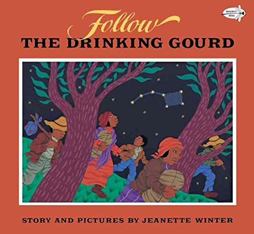 9780440845614: [Follow the Drinking Gourd] [by: Jeanette Winter]