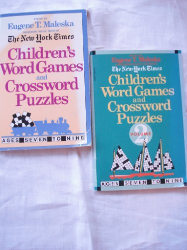 9780440845935: Children's Word Games and Crossword Puzzles