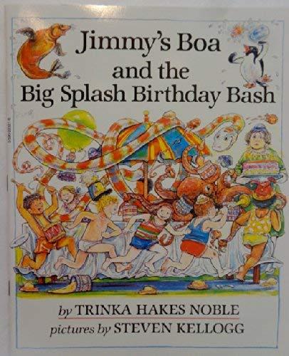 9780440846000: Jimmy's Boa and the Big Splash Birthday Bash