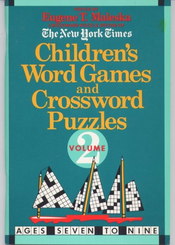 9780440848684: Children's Word Games and Crossword Puzzles (The New York Times, Two)